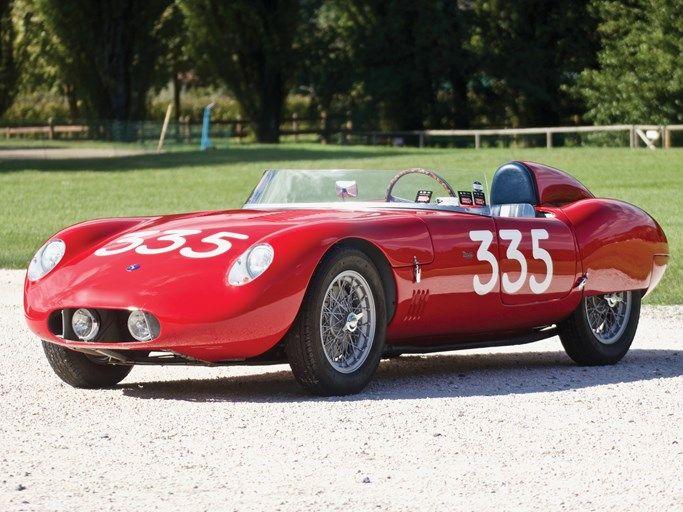 1955 Osca Mt4 2ad 1350 By Morelli Sports Car Racing Bugatti