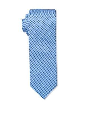 61% OFF Massimo Bizzocchi Men's Micro Pattern Stitch Tie, Blue