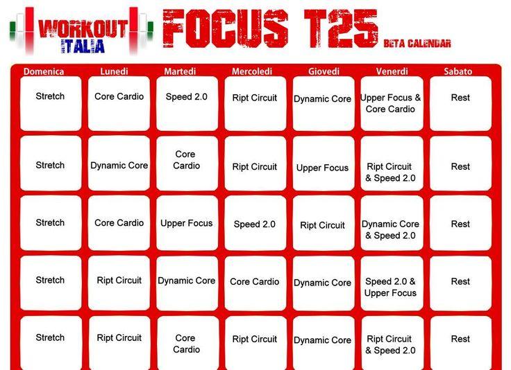 shaun focus t25 calendario beta