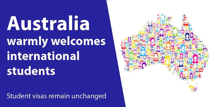 Australia Warmly Welcomes International Students!! Student visas remain unchanged... Apply now- https://goo.gl/zBq9KN #studyinAustralia #internationalstudents #studyabroad