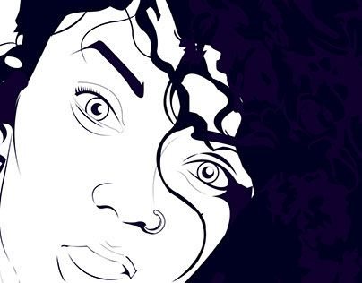 """Check out new work on my @Behance portfolio: """"Fantastic Curls"""" http://on.be.net/1Qs0m9S"""