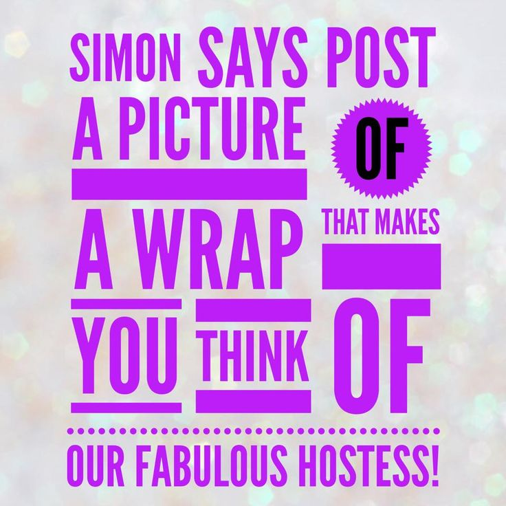 Simon Says 3:  Simon Says Post a link to a wrap in the comments that reminds you of April! Click the image above to go to the catalog to look!!