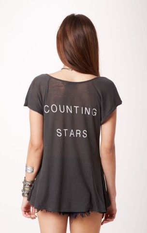 WILDFOX COUNTING STARS HENLEY