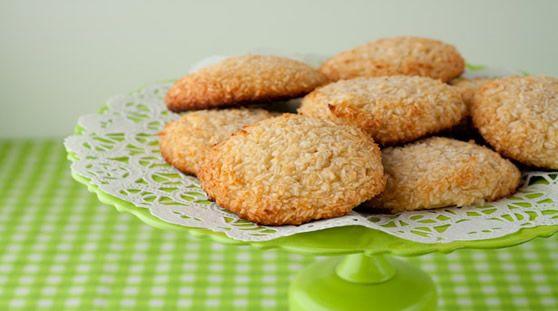 Bolachas, cookies de coco – receita sem glúten