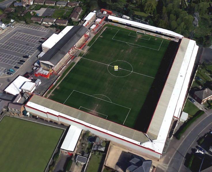Whaddon Road - Home of Cheltenham Town FC