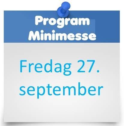 Programmet for vår minimesse på fredag er klart. Foredrag, demo og Silent auction! http://www.luftdesign.no/program_minimesse