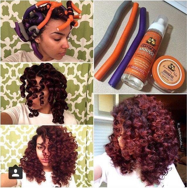 Sensational 1000 Ideas About Flexi Rods On Pinterest Natural Hair Perm Short Hairstyles Gunalazisus