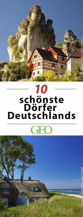 Provinz zum Verlieben: Zehn der schönsten Dörfer Deutschlands