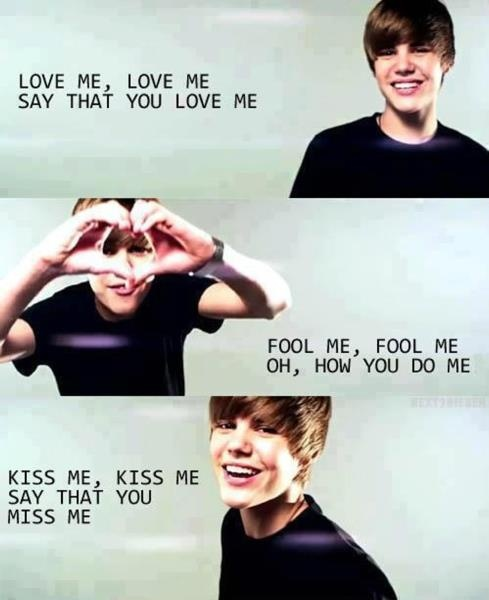 Tell Me What I Want To Hear Tell Me That You Love Me-Love Me