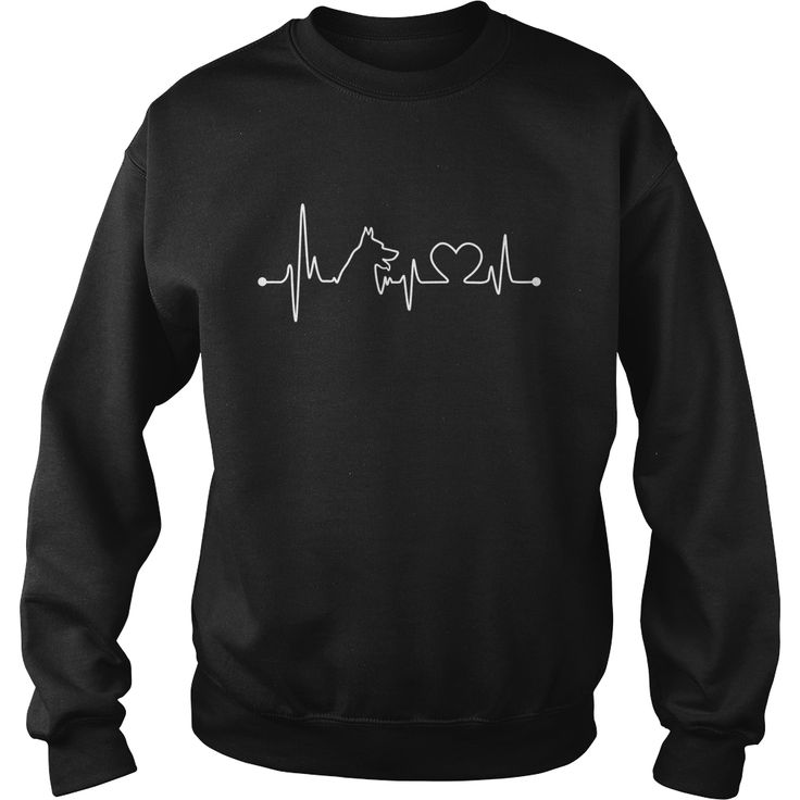 #German Shepherd Dog Heartbeat Tshirt, Order HERE ==> https://www.sunfrog.com/Jobs/111187678-345228297.html?58094, Please tag & share with your friends who would love it, #xmasgifts #birthdaygifts #christmasgifts  #german shepherd dog names, german shepherd dog puppy, german shepherd dog black  #family #animals #goat #sheep #dogs #cats #elephant #turtle #pets