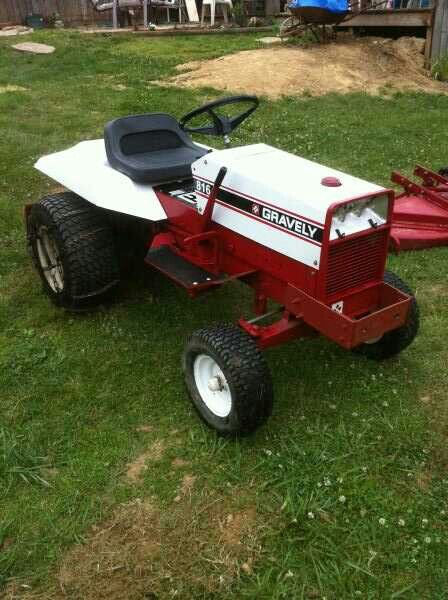 Garden Tractor Counterweights : Best images about gravely lawn and garden tractors on