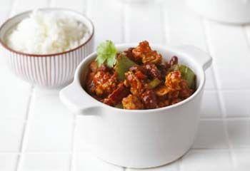 Chili con kylling