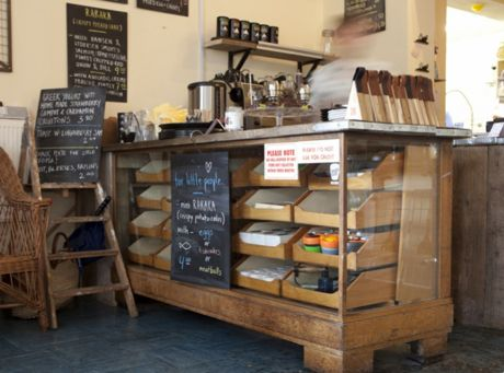 Ooh Love This I Dream Of A Self Service Counter Made Up Of Trays That Customers Help