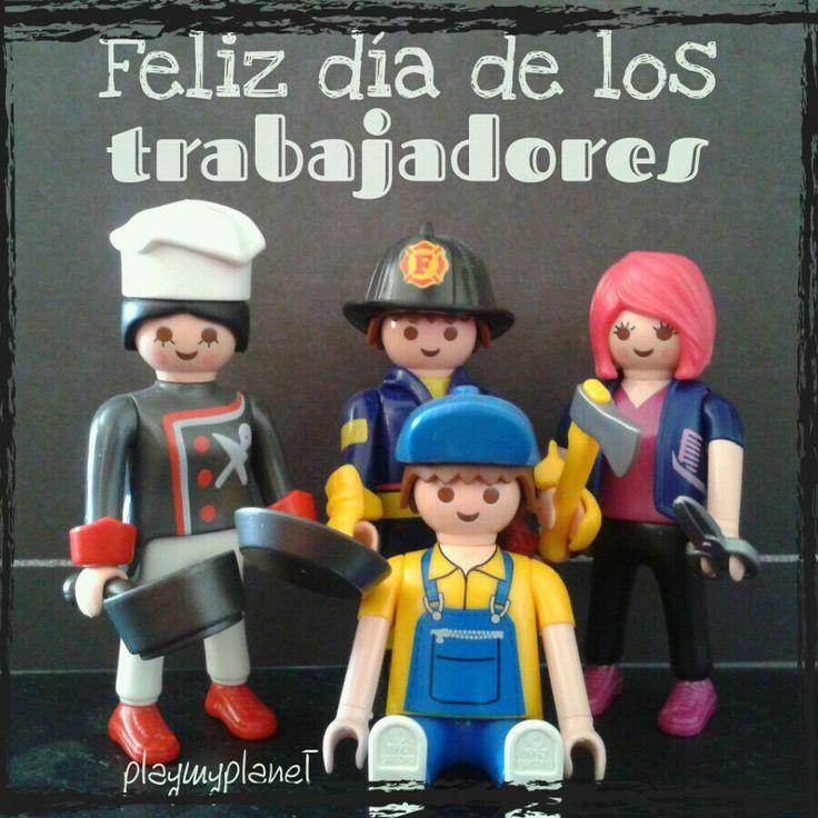Feliz dia de los trabajadores