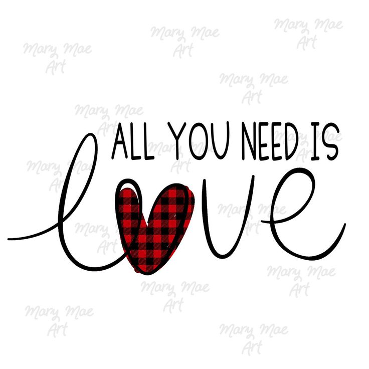 Download All You Need is LOVE, Valentine's Day, Sublimation ...