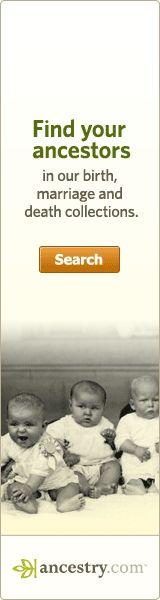 Cyndi's list lists of genealogy sources.