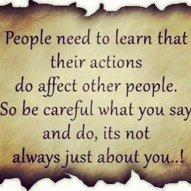 """I believe this! I can't stand when I hear """" I can't make you feel that way, no one can make you feel anything."""" I believe my feelings are directly related to how I am treated by others on a daily basis and how I treat them. The only way human interaction does not effect feelings is if you're dead.. Or a narcissistic sociopath. Think about it, even old scares of  mistreatment by others can still bring on feelings in adulthood. I do believe we have the power to control these feeling & not act…"""