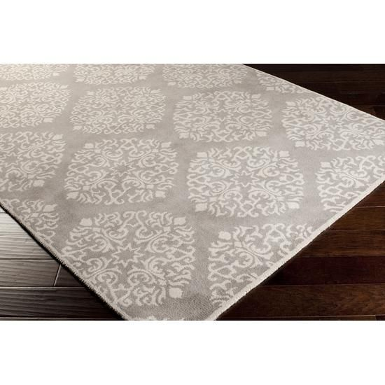 This Grey And White Patterned Area Rug Is Classy And Stylish. The Neutral  Tones Can
