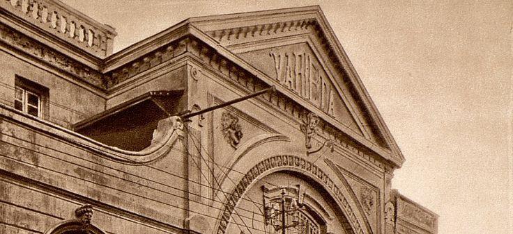 Parte da fachada do Varietá em Lourenço Marques.