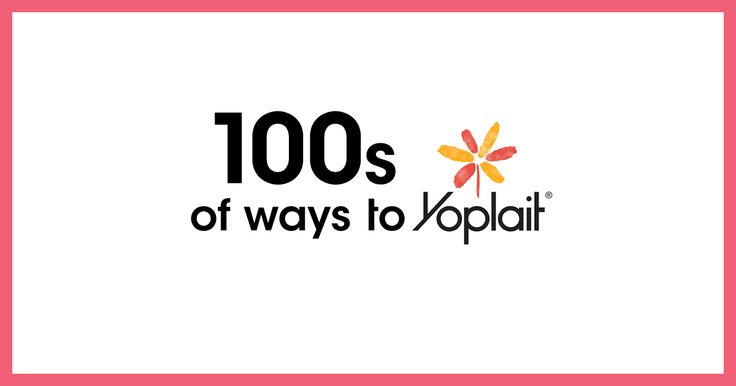 We want to see how YOU Yoplait! It's the better for you snack that so easy to grab and go! Just for indulging in the fun, we're giving away THOUSANDS of exciting daily prizes and one $100,000 Grand Prize! HURRY! Enter now and every day! #100sOfWaysToYoplaitSweepstakes Ends 5/15/2017.