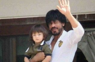 """Kolkata: Superstar Shahrukh Khan feels it is the right time to introduce his baby boy AbRam to sports. AbRam, who completes three years on May 27, was present at the Eden Gardens on Thursday with his celebrity father to watch the Indian Premier League match between Kolkata Knight Riders and Kings XI Punjab. """"Any sport, which will give him happiness....  Read More"""