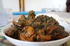 9jafoodie   Nigerian Food Recipes   Modern African Cuisine – Yoruba Style Efo Riro