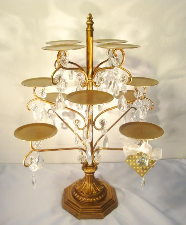 wedding cake stands gold 7 best cupcake table display images on 25653