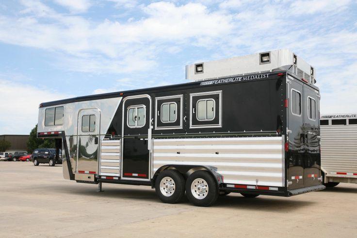 Featherlite Trailer. Horse barns, Horse trailers, Horse