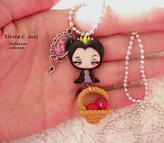 Grimhild polymer clay necklace by elvira-creations.deviantart.com on @deviantART