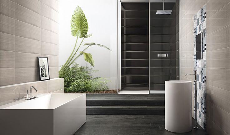 bagno bianco e grigio - Cerca con Google