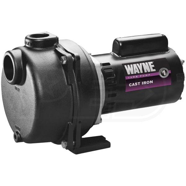 Wayne WLS200 - 88 GPM 2 HP Cast Iron Lawn Sprinkler Pump