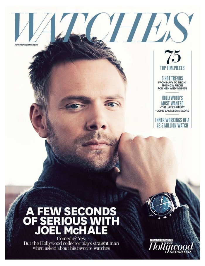 Joel McHale Covers The Hollywood Reporters Watches Supplement