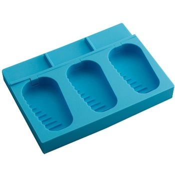 Silicone Ice Cube Tray Chocolate Candy Jelly Ice Tray Mold Party Maker, Blue