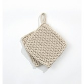 Found it at AllModern - Knitted Pot Holders in Offwhite (Set of 2)