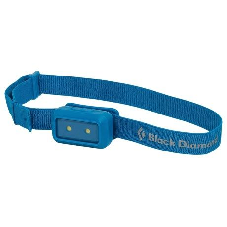 Black Diamond Equipment Wiz LED Headlamp in Electric Blue