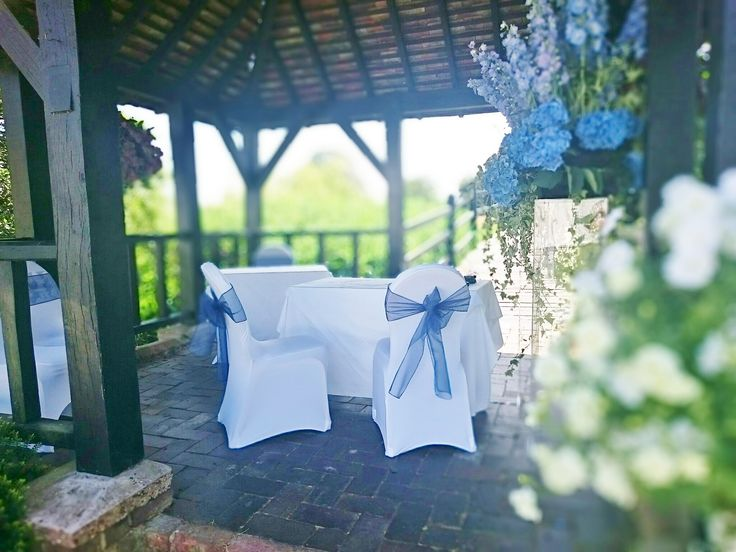 Our beautiful gazebo perfect for late spring and summer weddings at Prested Hall http://www.prested.co.uk/high-season/
