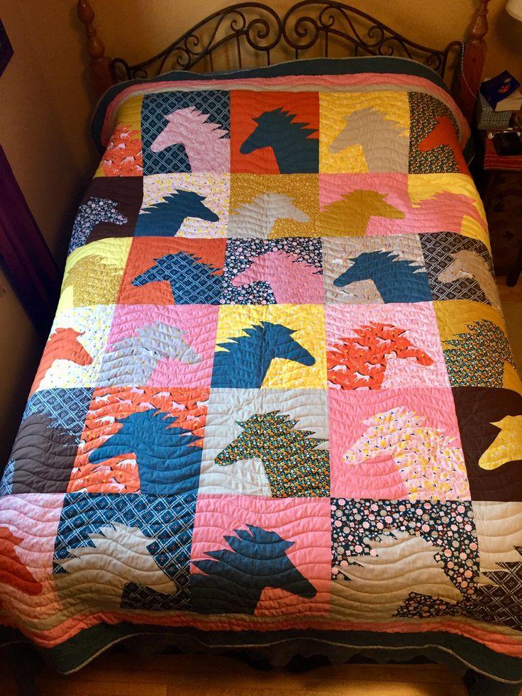 25 Unique Horse Quilt Ideas On Pinterest Quilt Patterns