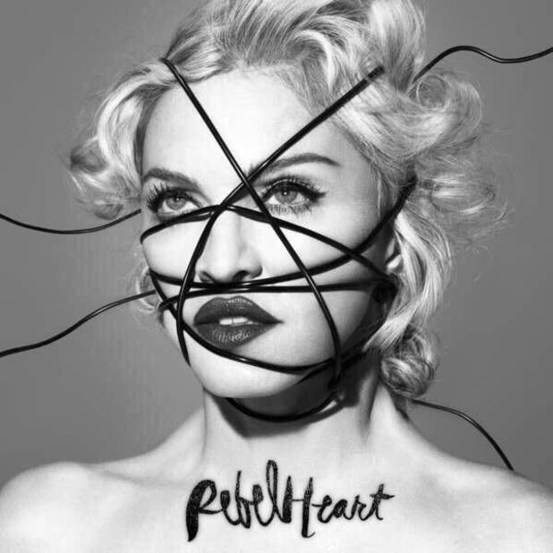 Madonna Rebel Heart album artwork.