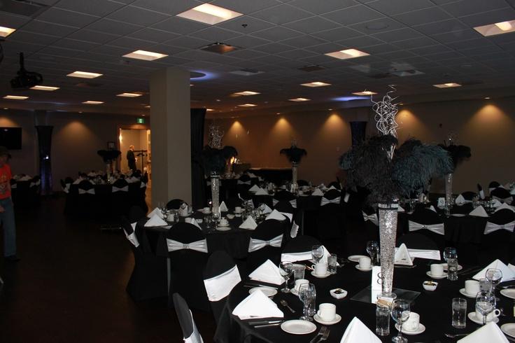 Elegant Classy Black Tie Room Fundy Room Diamond