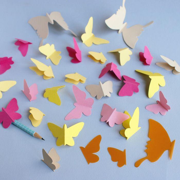 1001 Tolle Ideen Wie Sie Schmetterling Basteln