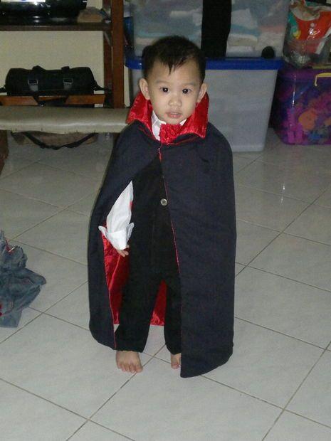 diy vampire costume for kids