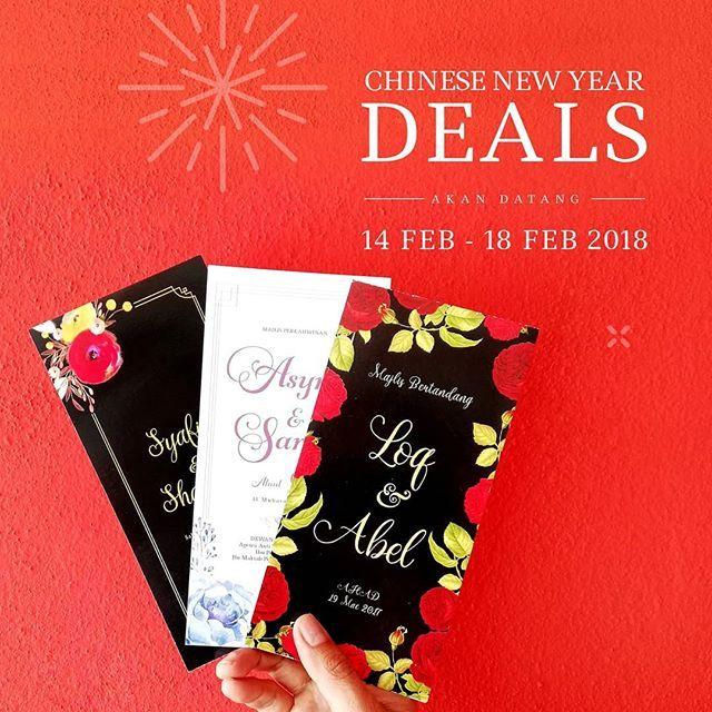 Chinese New Year Super Deal Untuk Maklumat Lanjut Whatsapp 017 342 4341 017 342 4341 017 342 4341 Book Cover Kad Kahwin Books