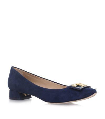 TORY BURCH Gigi Suede Pumps. #toryburch #shoes #