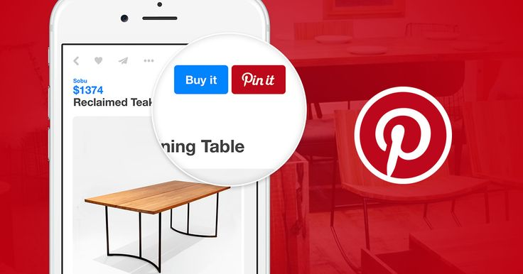 Shopify and Pinterest have partnered together to allow customers to purchase your products while browsing the Pinterest app.