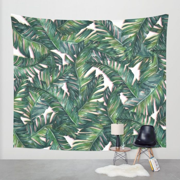Buy banana leaf 3 Wall Tapestry by mark ashkenazi. Worldwide shipping available at Society6.com. Just one of millions of high quality products available.