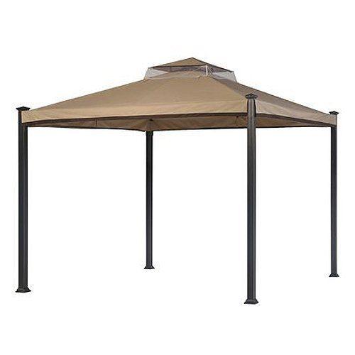 Garden Winds Everton Gazebo Replacement Canopy, Riplock 350, 2015 Amazon Top Rated Gazebos #Lawn&Patio