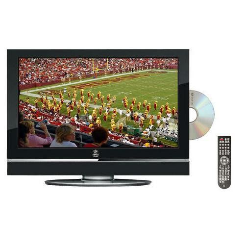 26'' Hi-Definition LCD Flat Panel TV w/ Built-In DVD Player