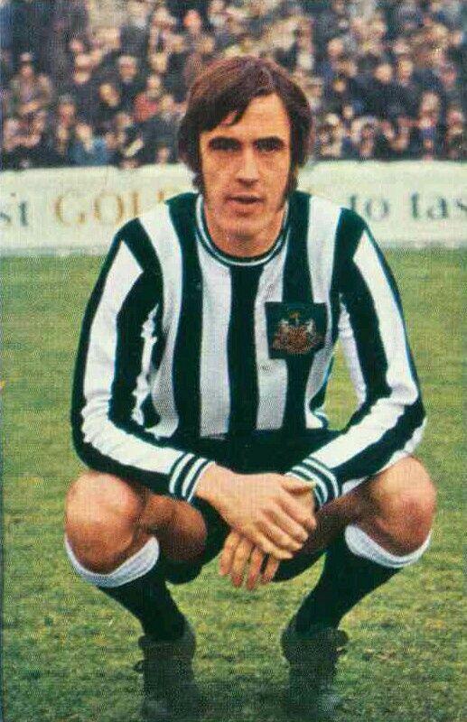Tommy Gibb of Newcastle Utd in 1970.