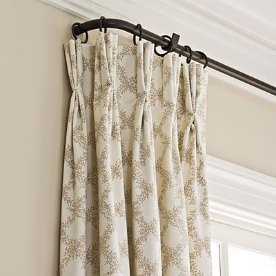 Curtains   French doors   Pinterest   Curtain Rods  Curtains and Irons