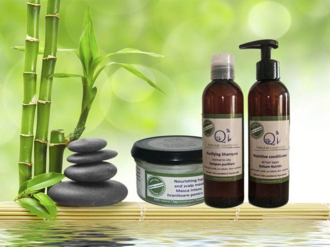Masca nutritiva pentru cresterea parului - Cosmetice organice naturale romanesti